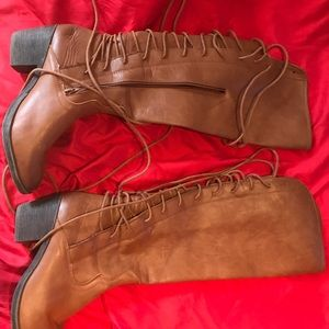 Brown Lace Up boot